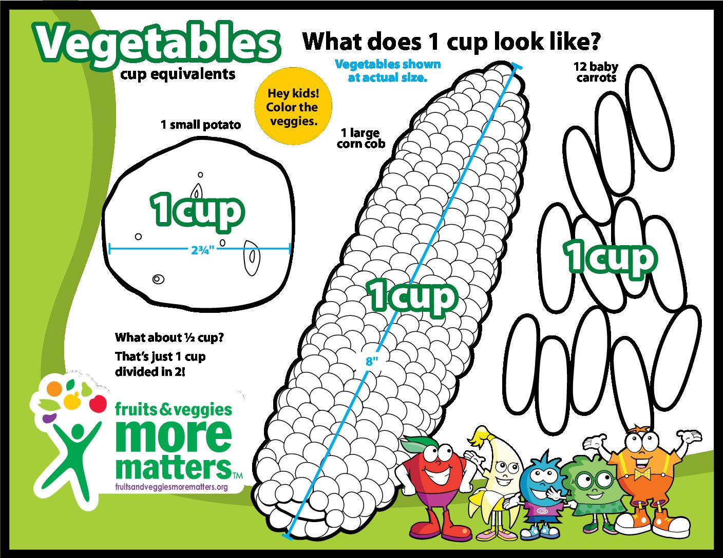 Buy Fruits Coloring Book And Vegetables Baby Activity Pdf Pages ... | 1088x1408